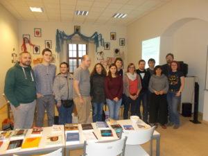 Účastníci workshopu kritiky audiokhih v Olomouci